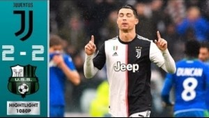Juvetus  vs Sassuolo 2 - 2 | Serie A All Goals & Highlights | 01-11-2019